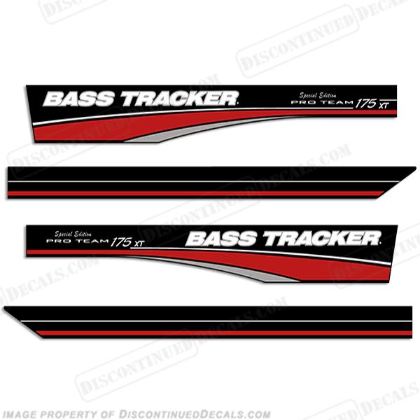 Bass Tracker Pro Team 175 Xt Decals Special Edition