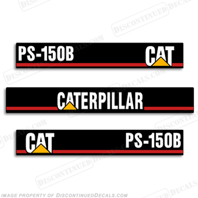 Caterpillar loader ps 150b decal kit