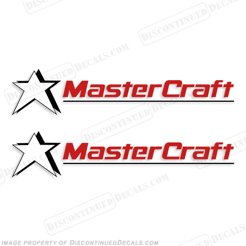 MasterCraft Boat Decals - Style 3 (Set of 2)