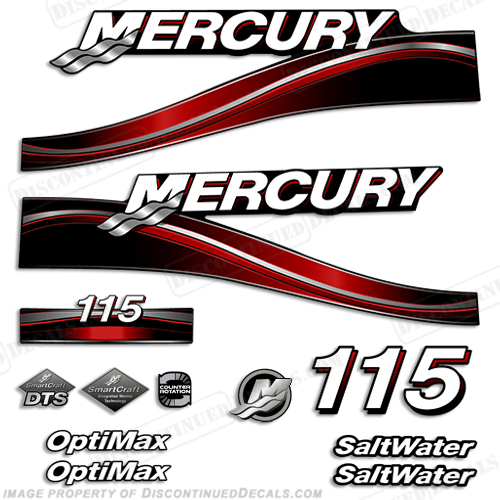 Boat Engine Decals Page - Decals for boat motors