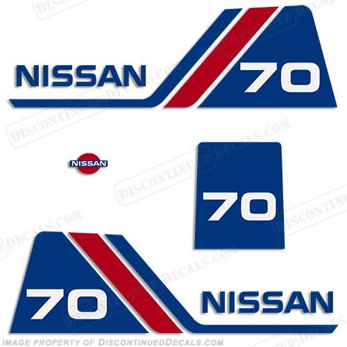 Nissan Decals - Decals for boat motors