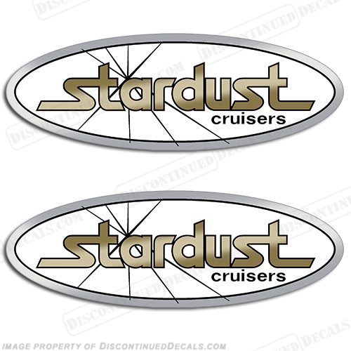 Stardust Cruisers Decals - Houseboat decals
