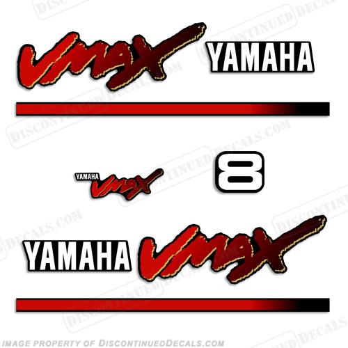 Yamaha Vmax Stickers