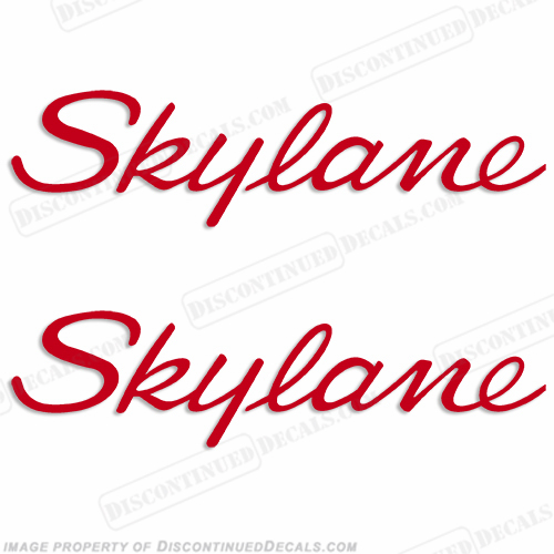 Cessna Skylane Decals - Style 1 (Set of 2) - Any Color!