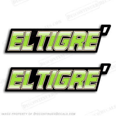 Arctic Cat El Tigre Decals (Set of 2)