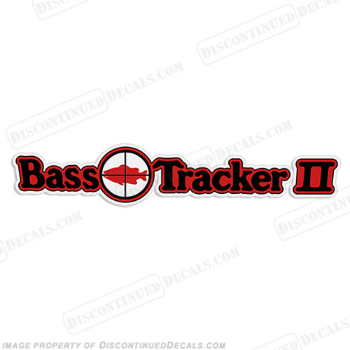 Bass Tracker II Target Boat Decal 2