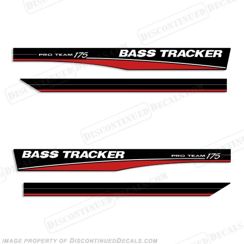 Bass Tracker Pro Team 175 Decals Red