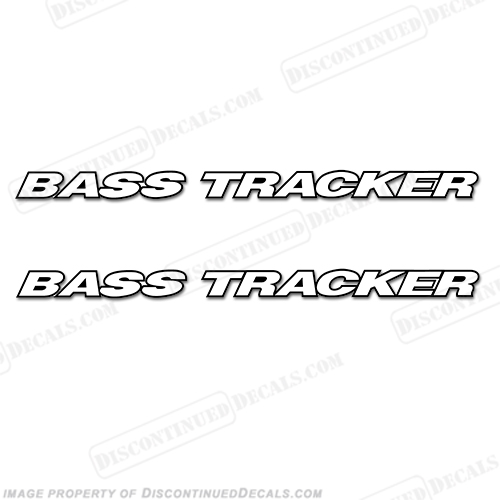 bass tracker decals