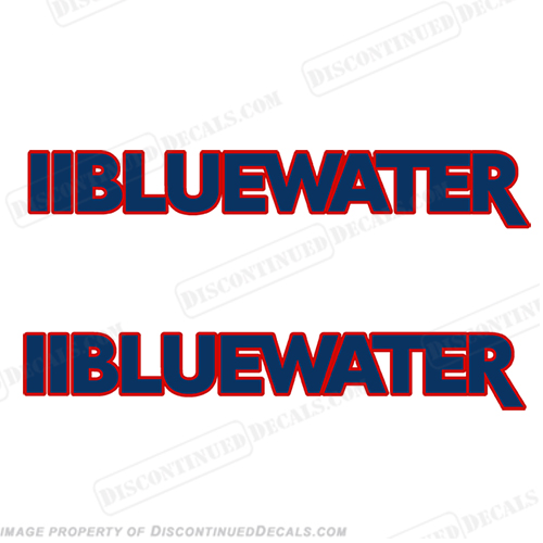 Bluewater Custom Boat Decals