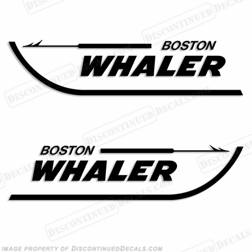 Boston Whaler Boats Logo Decal - Any Color!
