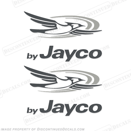 By Jayco with Logo Decals (Set of 2)