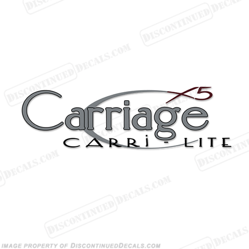 Carriage Carri-Lite X5 RV Decals