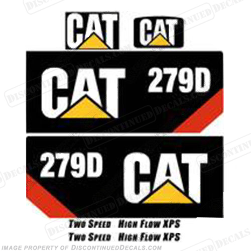 Caterpillar Decal Kits : Caterpillar d decal kit