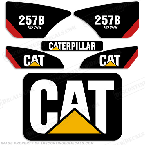 Caterpillar Decal Kits : Caterpillar b decal kit