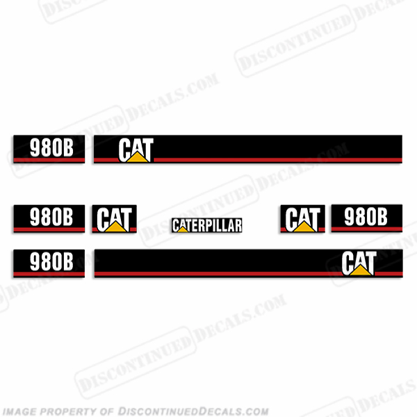 Caterpillar Decal Kits : Caterpillar loader b decal kit