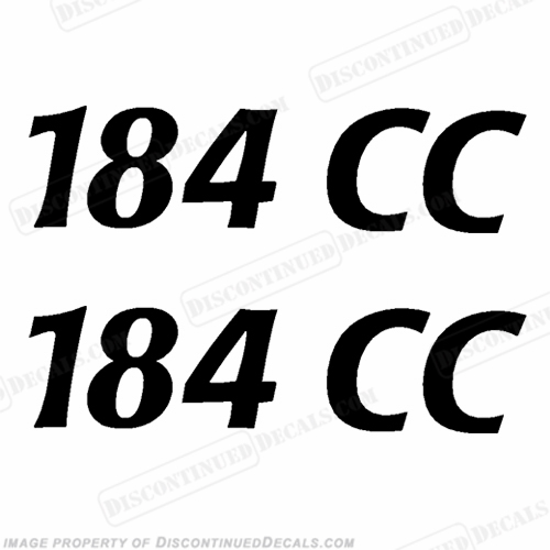 "Cobia Boats ""184CC"" Decals (Set of 2) - Any Color!"