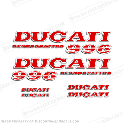 Ducati 996 Desmoquattro Decal Kit