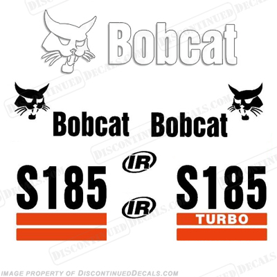 Bobcat S185 Decal Kit