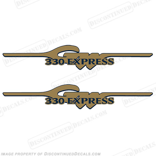 Grady White 330 Express Logo Decals