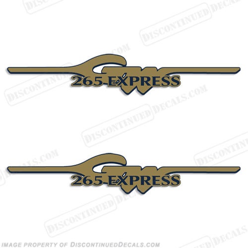 Grady White 265 Express Logo Decals