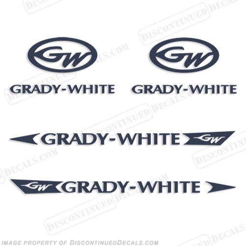 Grady White Decal Kit - Any Color!