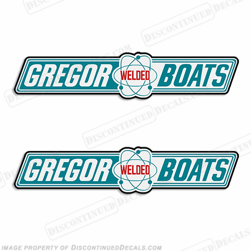 Gregor Boat Decals (Set of 2) - Style 1