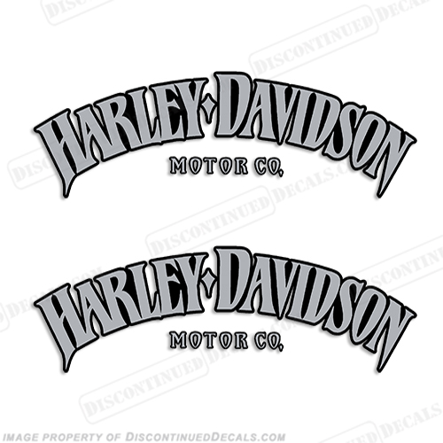 Harley Decals - Harley davidsons motorcycles stickers