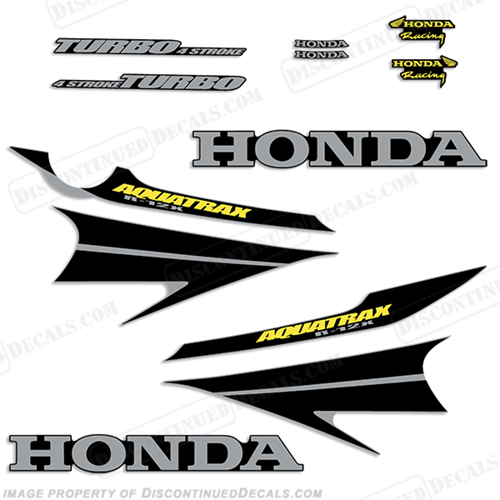 Honda Aquatrax R-12X Waverunner Decals