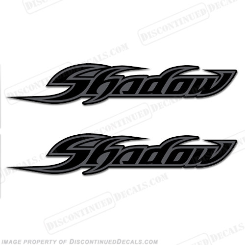 Honda Shadow Logo Decals Set Of 2 Style 1