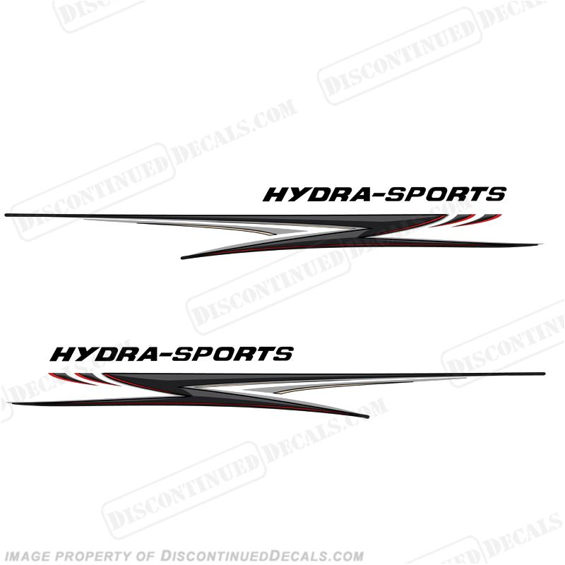 "HydraSports Giant 118"" Long Graphics - Silver/Black/Red"