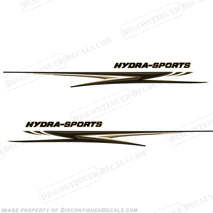 "HydraSports Giant 118"" Long Graphics - Gold/Black"