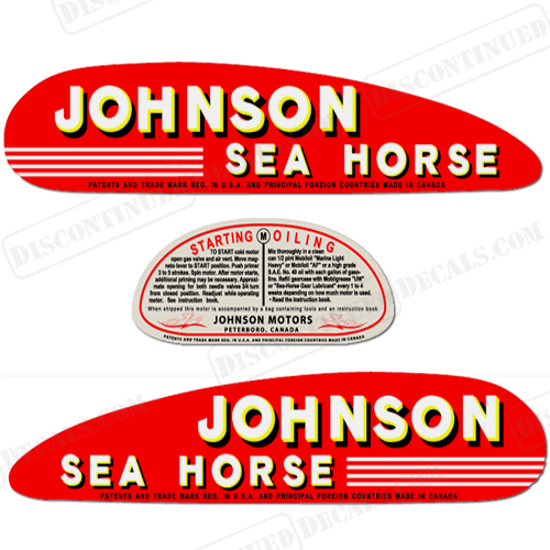 Johnson Decals - Decals for boats canada