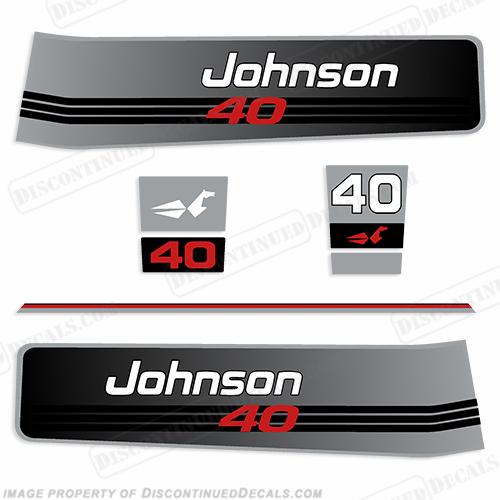 Johnson 1992 1994 40hp Decals