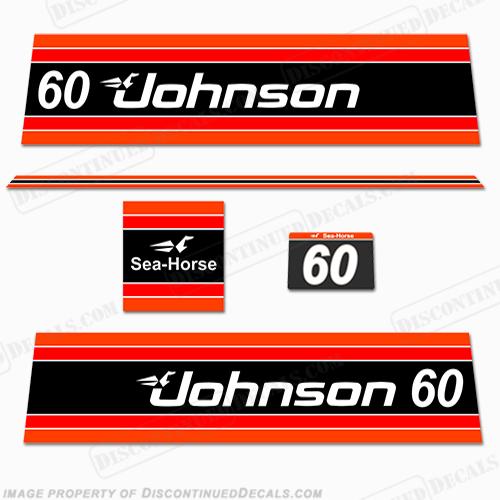 Johnson 1981 60hp Decals
