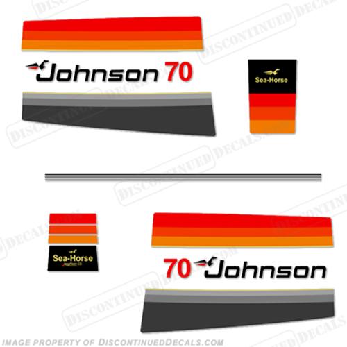 Johnson 1978 70hp Decals