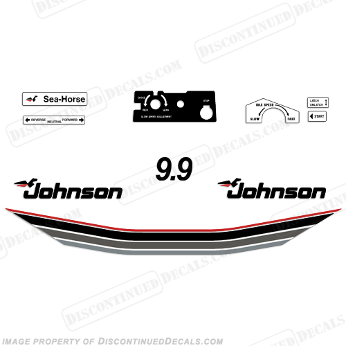 Johnson 1985 Decals