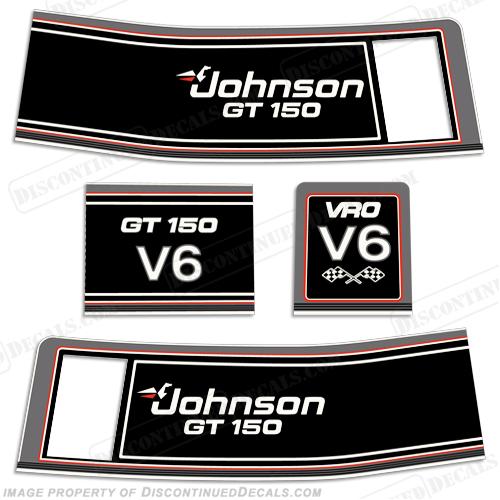 Johnson 1989 Gt 150hp Decals