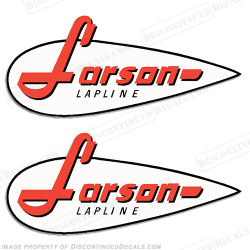Larson Boat Logo Decal - (Set of 2)