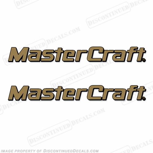 MasterCraft Boat Decals - Style 2 (Set of 2)