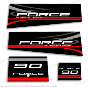 Force Decals - Decals for boat motorsoutboarddecalscom s of decals in stock