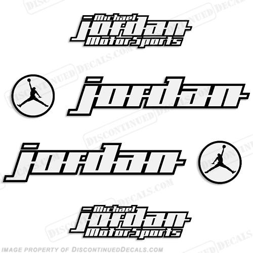 Michael jordan motorsports race bike logo decals
