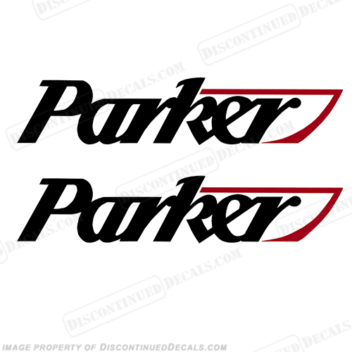 Parker Logo Decal (Set of 2)