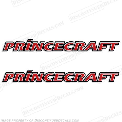 PrinceCraft Logo Decals (Set of 2) - Any Color!
