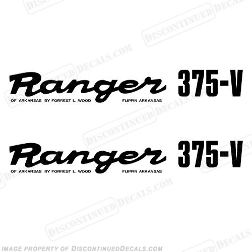 Ranger Decals - Ranger bass boat decals
