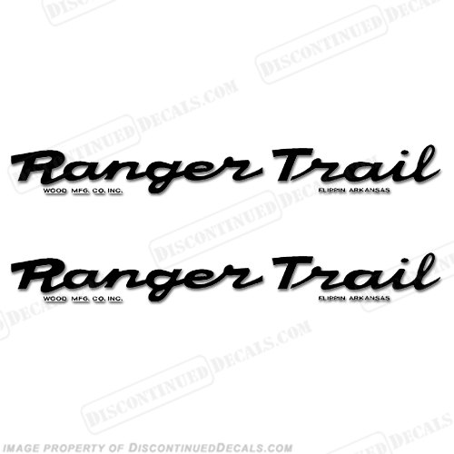 Boat Trailer Decals - Ranger bass boat decals