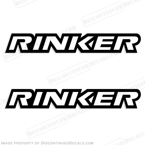 Rinker Boats Logo Decals - Any Color!