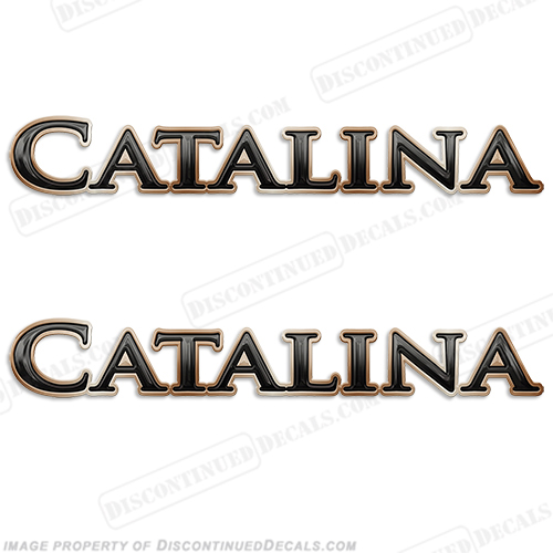 Catalina by Coachmen RV Decals (Set of 2)