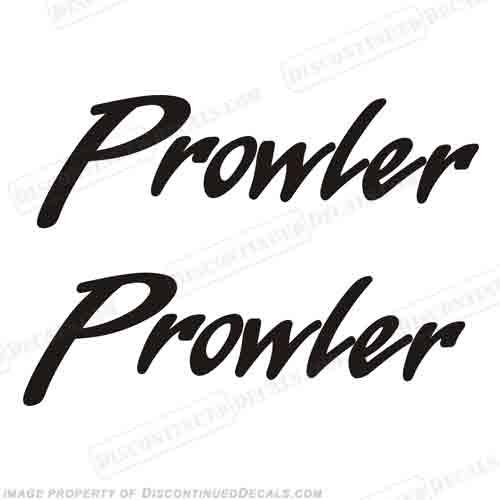 fleetwood prowler logo rv decals  set of 2  any color sea doo logo sea doo logo vector