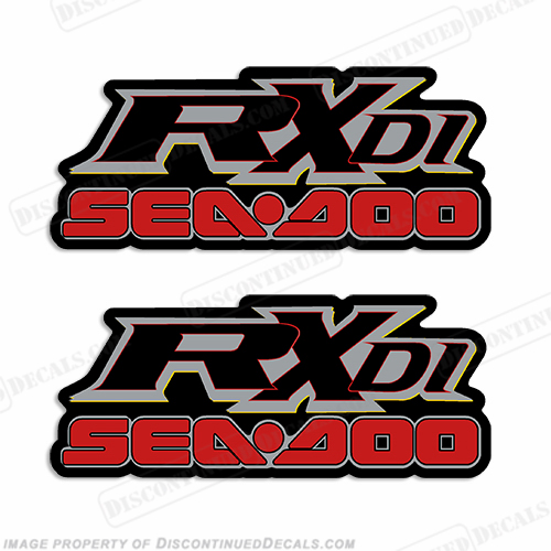 Sea-Doo RXDI Decals (Set of 2)