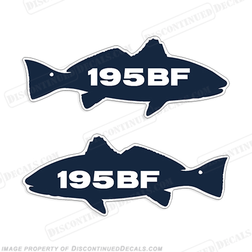 Sea Fox 195BF Decals